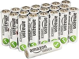 AmazonBasics Performance Batterien Alkali, AA, 20 Stck