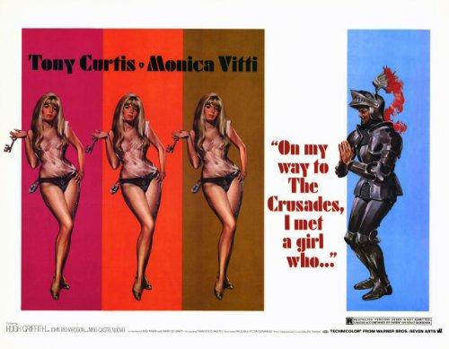 On My Way to The Crusades, I Met a Girl Who... Plakat Movie Poster (11 x 14 Inches - 28cm x 36cm) (1969)
