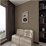 Tapeten Wandbild Hintergrundbild Fototapetepapel De Parede, Klassisches Braunes Flachskorngrün-Wohnzimmerrestaurant Voller Tapetenpaste Sowieso Tapetenpapier