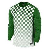 Nike Herren Jersey Precision III LS, green/white, XL, 644629-302