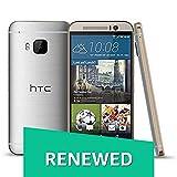 (Renewed) HTC One M9+ (Gold-Silver, 16GB)