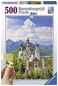 Ravensburger 13681 Puzzle Puzzle - Rompecabezas (Puzzle Rompecabezas, Edificios, Niños y Adultos, Neuschwanstein, Niño/niña, 14 año(s))