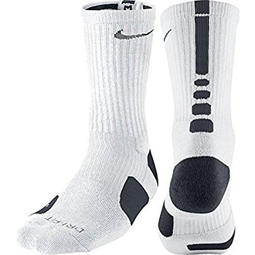Nike Elite Dri-Fit Chaussettes de sport pour homme blanc