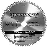 Silverline 244964 TCT Veneer Blade 80T 250 x 30 - 25, 20, 16 mm rings