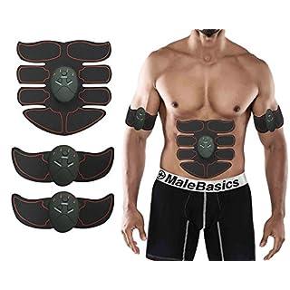 Muskelstimulation Muskel Trainer EMS-Training Gewicht Verlust Fitness Toning Bauchmuskeln Toner Lazy Fitness für Mann Damen