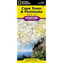 Cape Town & Peninsula, South Africa : Travel Maps International Adventure Map (National Geographic Adventure Map)