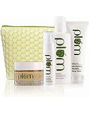 Plum Green Tea Face Care Kit With Kit Bag, For Oily & Acne Prone Skin, Vegan Skin Care