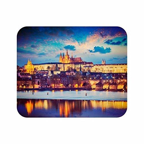Preisvergleich Produktbild UB Mauspad Textil Prag bei Nacht Neuware!!!