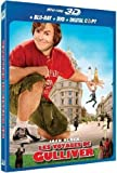 Les Voyages de Gulliver - Blu-ray 3D active + Blu-ray 2D + DVD +...