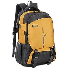 Backpack Shoulder Backpack 45L Impermeable Transpirable Luz De Viaje Para Hombres Y Mujeres Para Acampar,