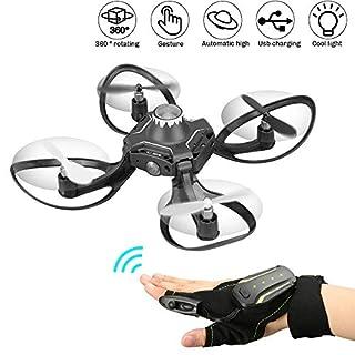 RDJM Mini Drone, Altitude Hold Quadcopter Drone 2.4 G 6 Axis Mode sans tête télécommande Nano Quadcopter pour Les débutants