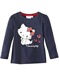 Tee shirt manches longues fille Charmmy kitty Marine 8ans