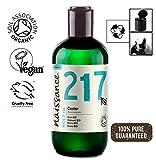 Naissance Aceite de Ricino BIO 250ml - Puro, natural, certificado ecológico, prensado en frío, vegano, sin hexano, no OGM - Hidrata y nutre el cabello, las cejas y las pestañas