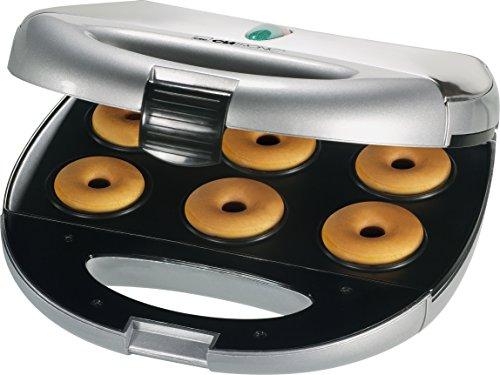 Clatronic DM 3127 - Máquina para hacer rosquillas (6 moldes), color...