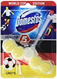 Domestos Power 5 WC Stein World Cup Edition Limette, 5er Pack (5 x 55 g)