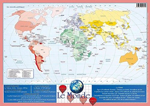 Editions Aris Sous-main - Set de Table Educatif Plastifié, Effaçable \