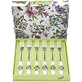 Portmeirion Botanic Garden Pastry Forks Set of 6