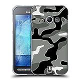 Head Case Designs Night Shift Militärische Tarnfarben Soft Gel Hülle für Samsung Galaxy Xcover 3