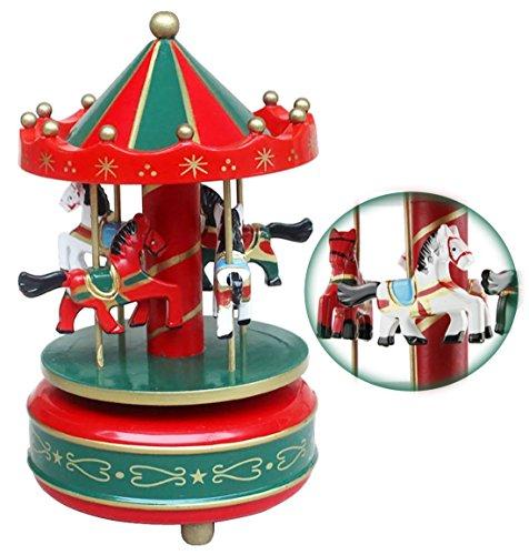selle Spieluhr Carousel Musikspieldose Music Box Kreative Artware / Geschenk Melodie Schloss im Himmel keine Stromversorgung ()