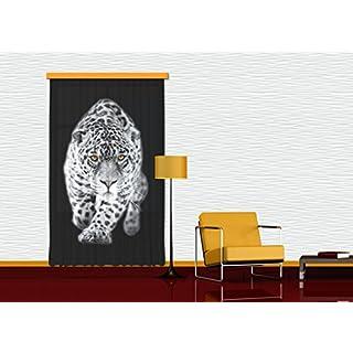 Gardine/Vorhang FCP L 6503 Tiger, 140 x 245 cm, 1-teilig