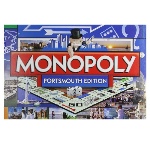 Portsmouth Monopoly Board Game