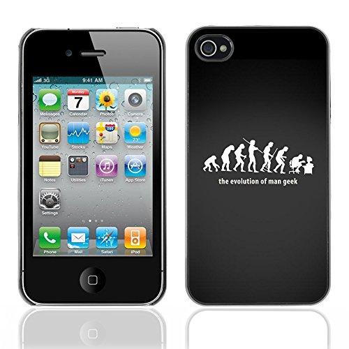 Graphic4You Geeks on Speed Design Harte Hülle Case Tasche Schutzhülle für Apple iPhone 4 und 4S Design #3