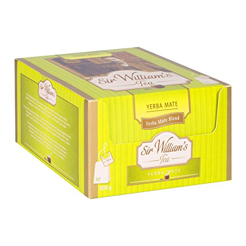 SIR WILLIAM`S YERBA MATE 50 Stk. Teebeutel; Beuteltee im Bag