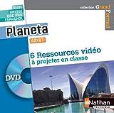 Planeta - Espagnol  Bac Pro A2>B1 - 1 DVD Videos 2014