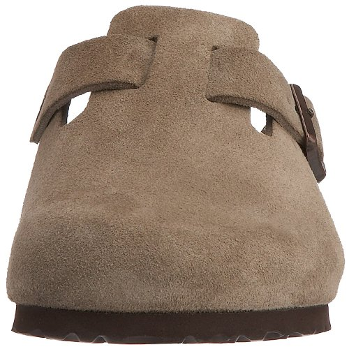 Birkenstock Boston, Sabots mixte adulte Taupe