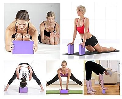VLFit 2er-Set Yoga Blöcke / Yogablock - Wählen Sie Ihre Farbe und Größe