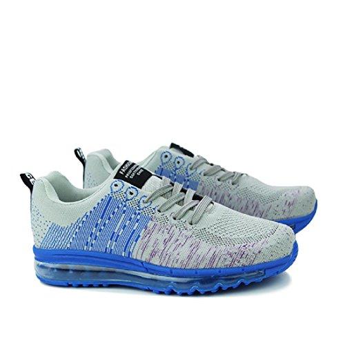 Hommes Chaussures de sport Augmenté Antidérapant imperméable Entraînement Baskets Grey