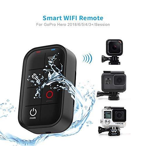 TELESIN Control Remoto Inalámbrico Inteligente para GoPro Hero5 Negro, Sesión Hero5, Sesiones Hero4 /4/3 +