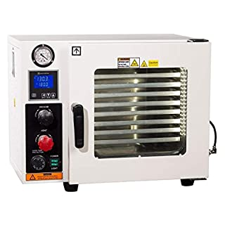 AI AccuTemp 25 liter (0.9 cf) 220v Vacuum Oven with 5 Sided Pad Heating and Back-Fill Capability