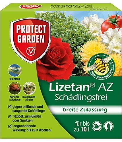 PROTECT GARDEN Lizetan AZ Schädlingsfrei (ehem. Bayer Garten), Insektenabwehr gegen saugende und beißende Schädlinge, 30 ml (Strauch Bayer)