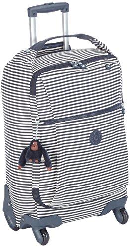 Kipling Darcey Equipaje de Mano, 55 cm, 30 Liters, (Marine Stripy)