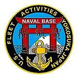 adesivo incisione struttura US Navy Yokosuka Naval