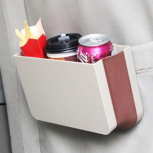 Preisvergleich Produktbild COFIT Zusammenklappbar Rückenlehnentasche / Abfalleimer für Auto Beige