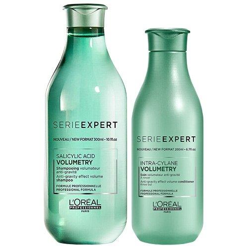 L'Oréal Professionnel Serie Expert Volumetry Shampoo zu 300 ml und Conditioner zu 200 ml im Doppelpack -