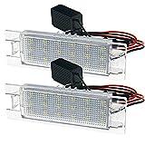 2x 18-LED SMD Kennzeichen Leuchte Nummernschildbeleuchtung Kennzeichenbeleuchtung