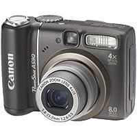 "Canon PowerShot A590 IS Digital Camera (8.0 MP, 4xOptical Zoom) 2.5"" LCD"