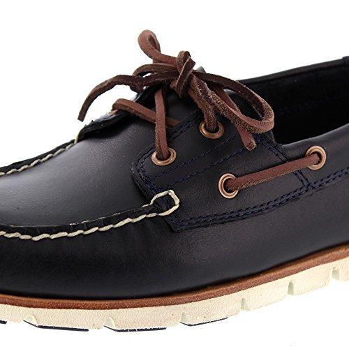 Timberland Tidelands 2 Eye CA1BBU, Chaussures bateau Noir