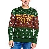 The Legend of Zelda Jumpers Zelda - Golden Hyrule Knitted Men's Sweater Multicolor-M