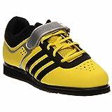 adidas-Männer Powerlift Trainer 2 Gewichtheben Schuhe - Gelb/Schwarz (6)