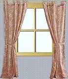 Juego de cortinas de lino 100%