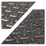 CCLIFE 60x60x1,2 cm 8er 16er 24er 32er Bodenschutzmatte Schutzmatte Fitness Unterlegmatten...