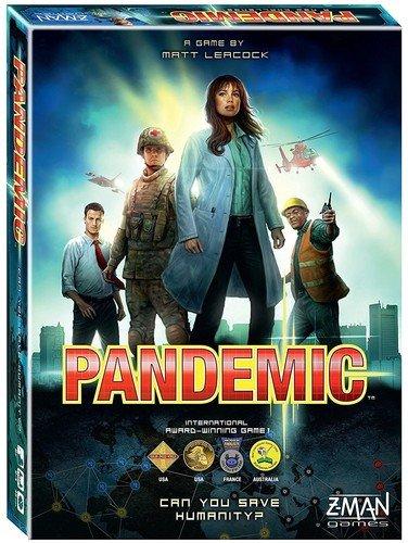 Z-Man Games ZMG71100 - Pandemic 2013 Brettspiel, Englisch (Zman Games)