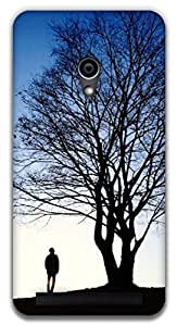 The Racoon Lean beauty of nature hard plastic printed back case / cover for Asus Zenfone 4 A450CG
