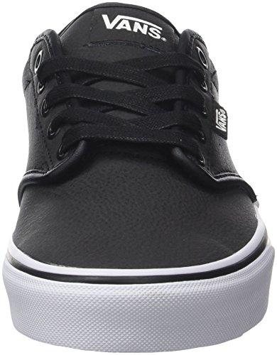 Vans Atwood Seasonal, Sneaker Uomo Nero (cuir)