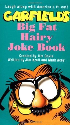 Garfield Big Fat Hairy Joke Book by Davis, Jim (1993) Mass Market Paperback