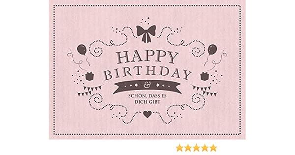 Geburtstagskarten umschlag beschriften